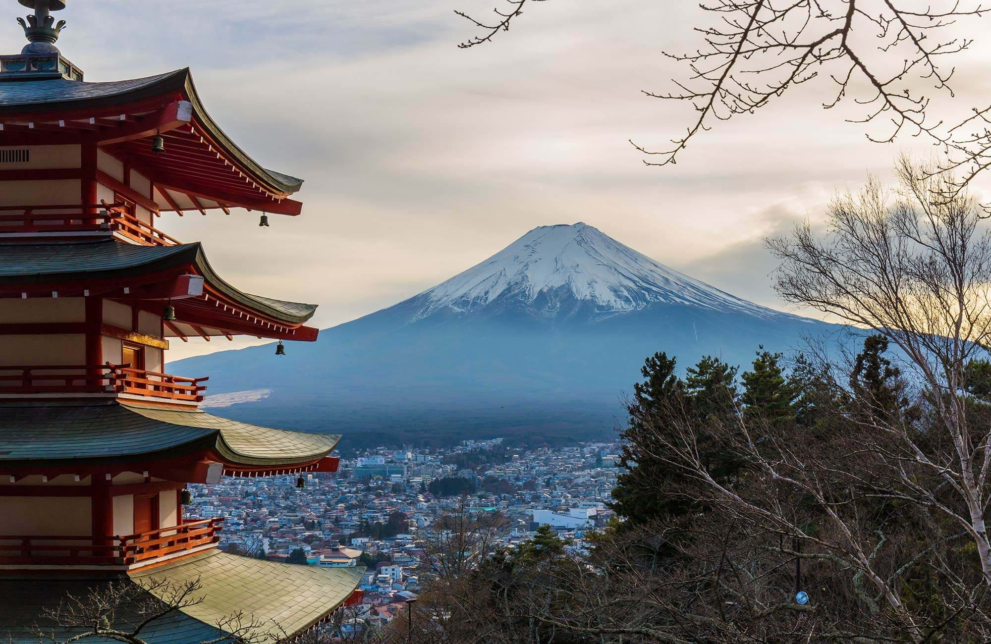 overvej at tag på tur til mount fuji mens du er i japan